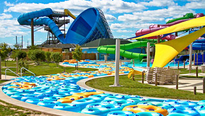 Raging Waves Waterpark in Yorkville, IL